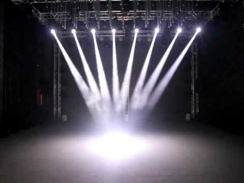 lights on the stage